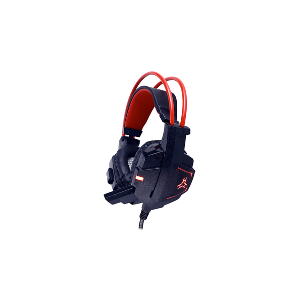 Rakk Daguob Illuminated Gaming Headset Red