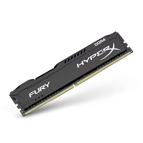 Kingston 8GB DDR4-2400 HyperX FURY Black (KHX424C15FB2/8) Desktop Memory