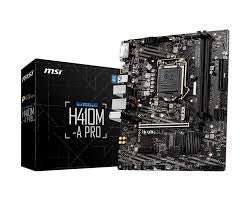 Msi H410M-A PRO Motherboard