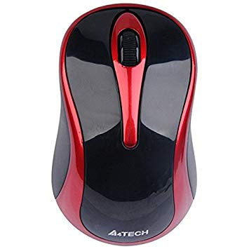 A4tech G3 280N-2 Wireless/Red Blk Mouse