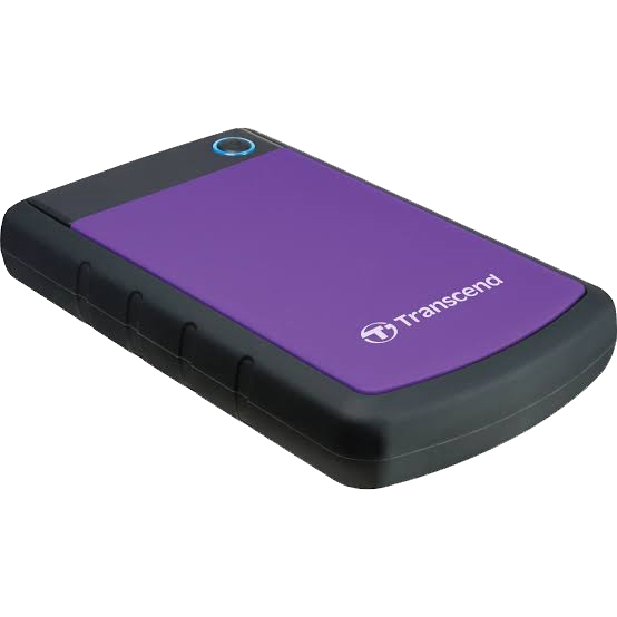 Transcend Shockproof 1TB HDD Purple