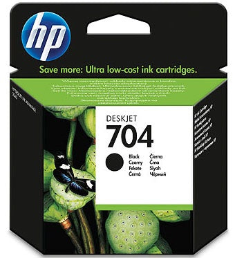 HP #704 Black Ink