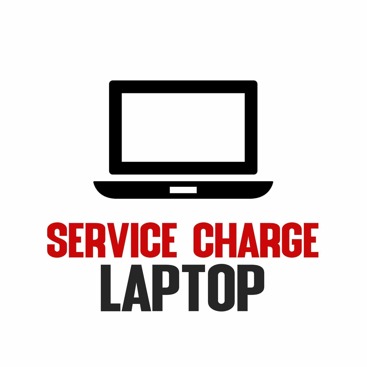 Service Charge ( Format with Back up) Laptop