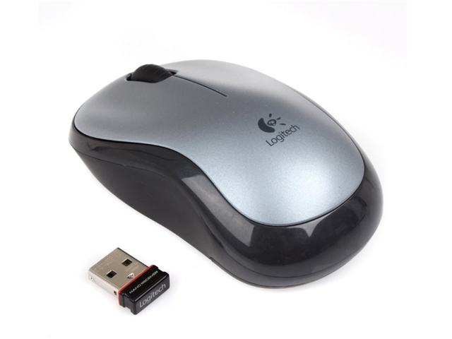 Logitech M185 Gray Wireless Mouse