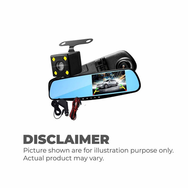 A70 Vehicle Blackbox Dual Dashcam