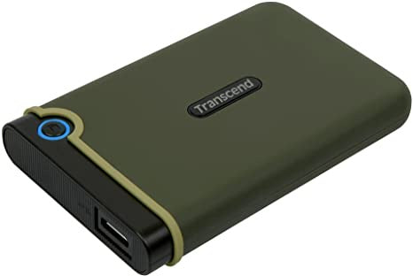 Transcend 1TB M3s Portable HDD Military Green (TS1TSJ25M3G)