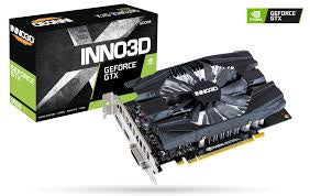 Inno3D N16501-04D6-1720VA29 GTX1650 4GB Graphics Card