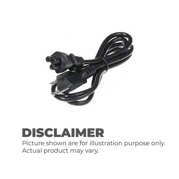 3 Prong Laptop Power Cable (Generic)