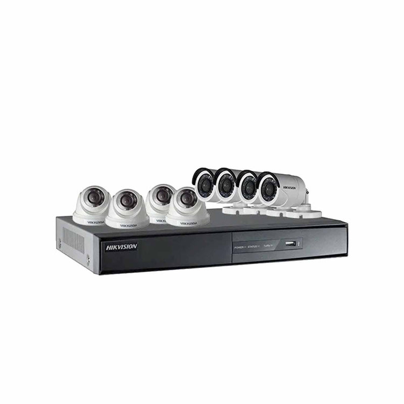 Hikvision TVI-8CH4D4B-2MP 8Ch CCTV Package