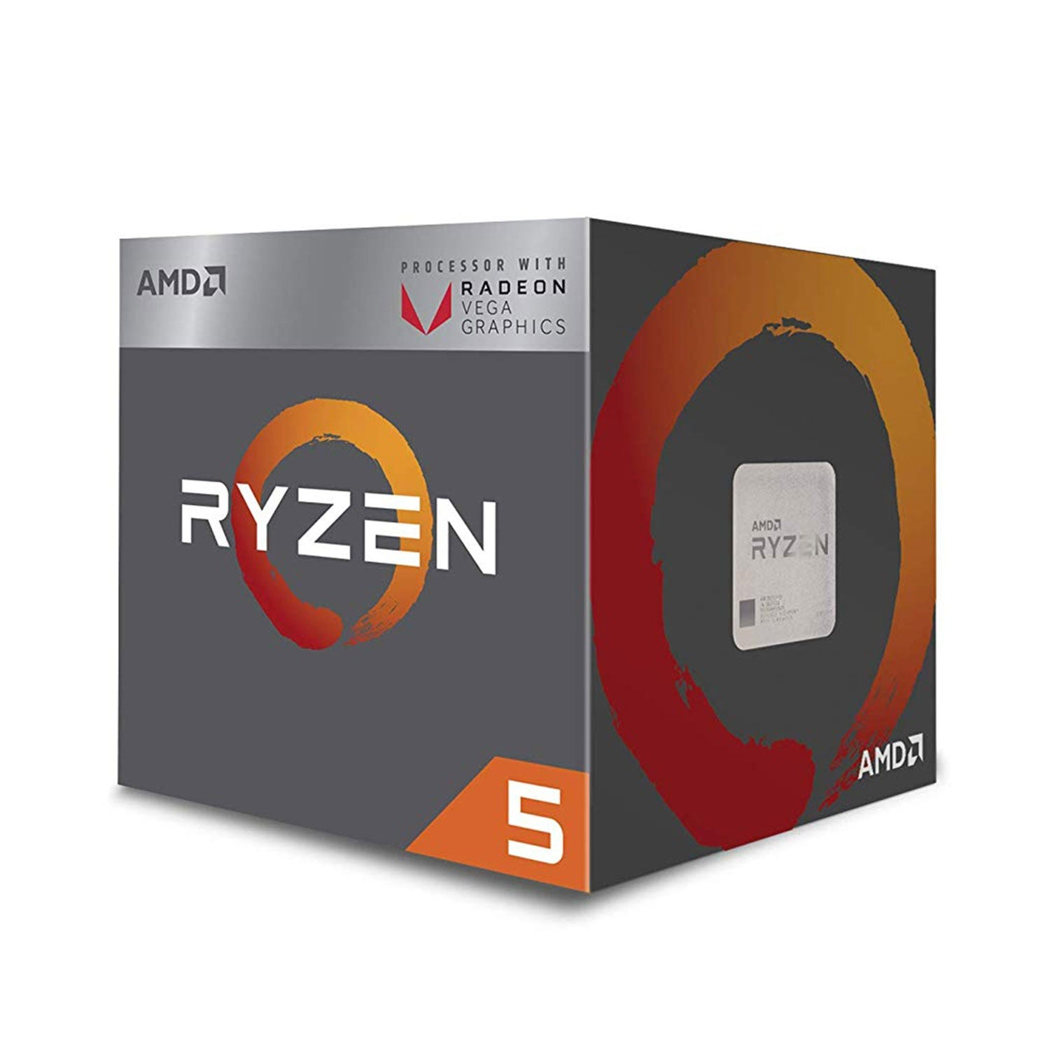 AMD Ryzen 5 2400G with Radeon RX Vega 11