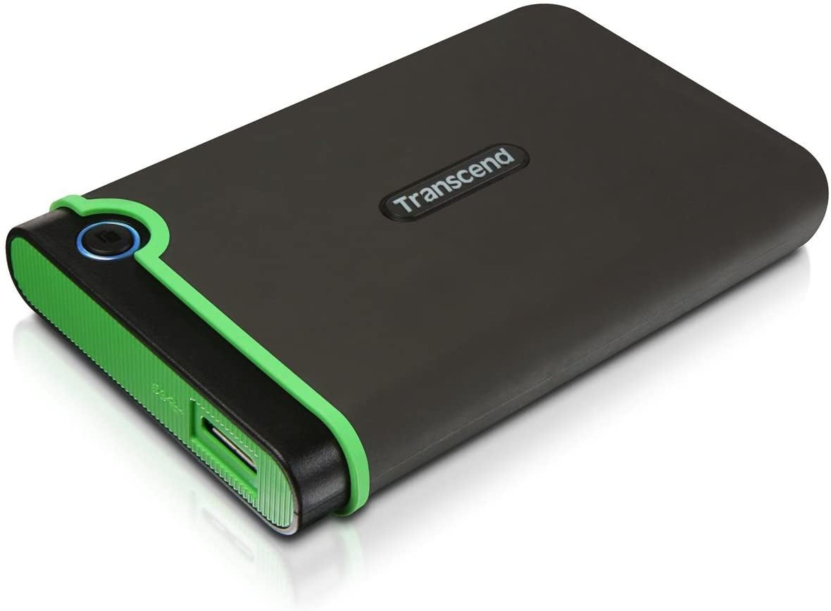 Transcend 1TB M3s Portable HDD Green
