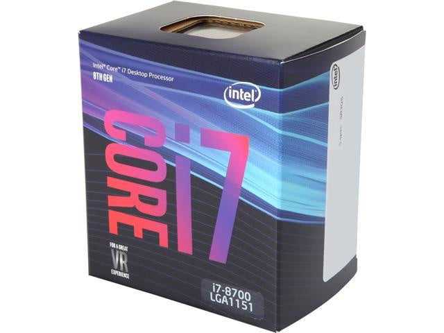 Intel Core i7-8700 3.20 GHz Processor