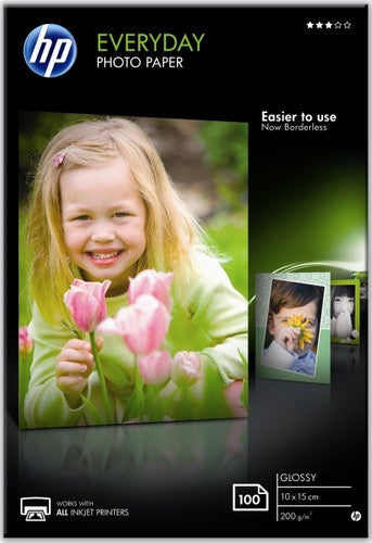 10x15cm HP Semi-Gloss Photo Paper