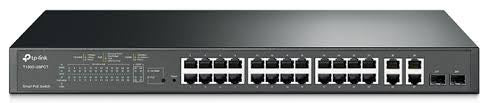 TP-Link T1500-28PCT (TL-SL2428P) 24Port Switch