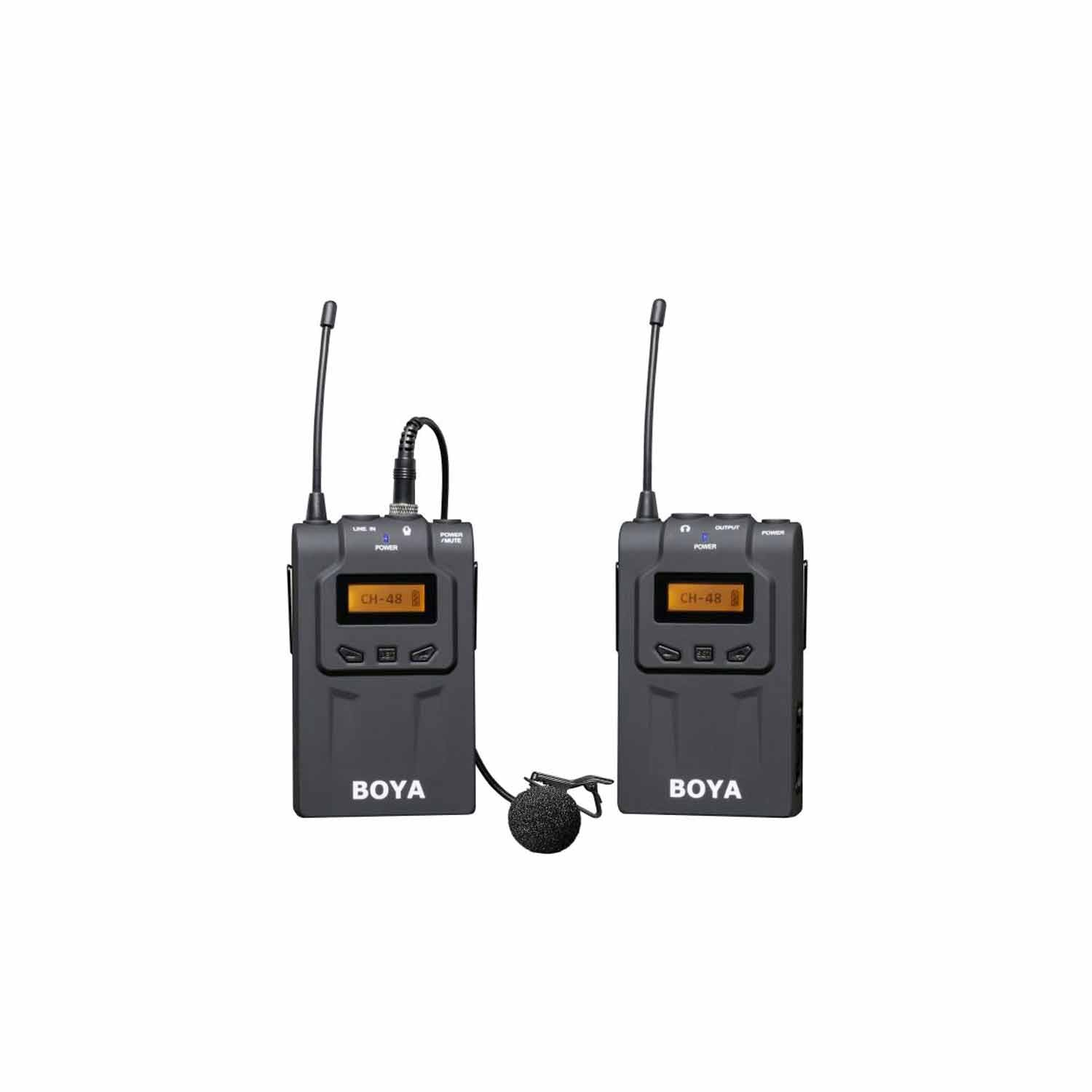 Boya BY-WM6 UHF Wireless microphone System