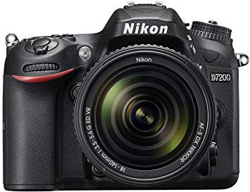 Nikon D7200 with 18-140mm DSLR Camera