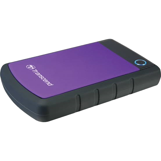 Transcend Shockproof 2TB HDD Purple
