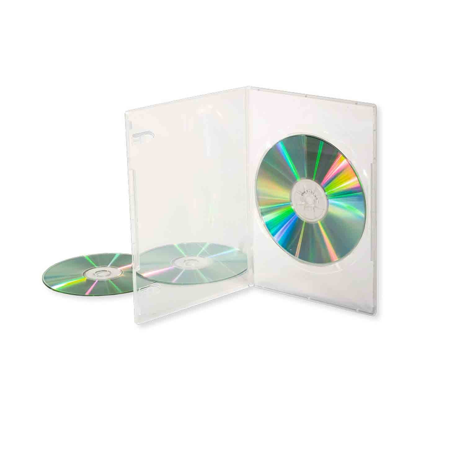 Transparent DVD Case