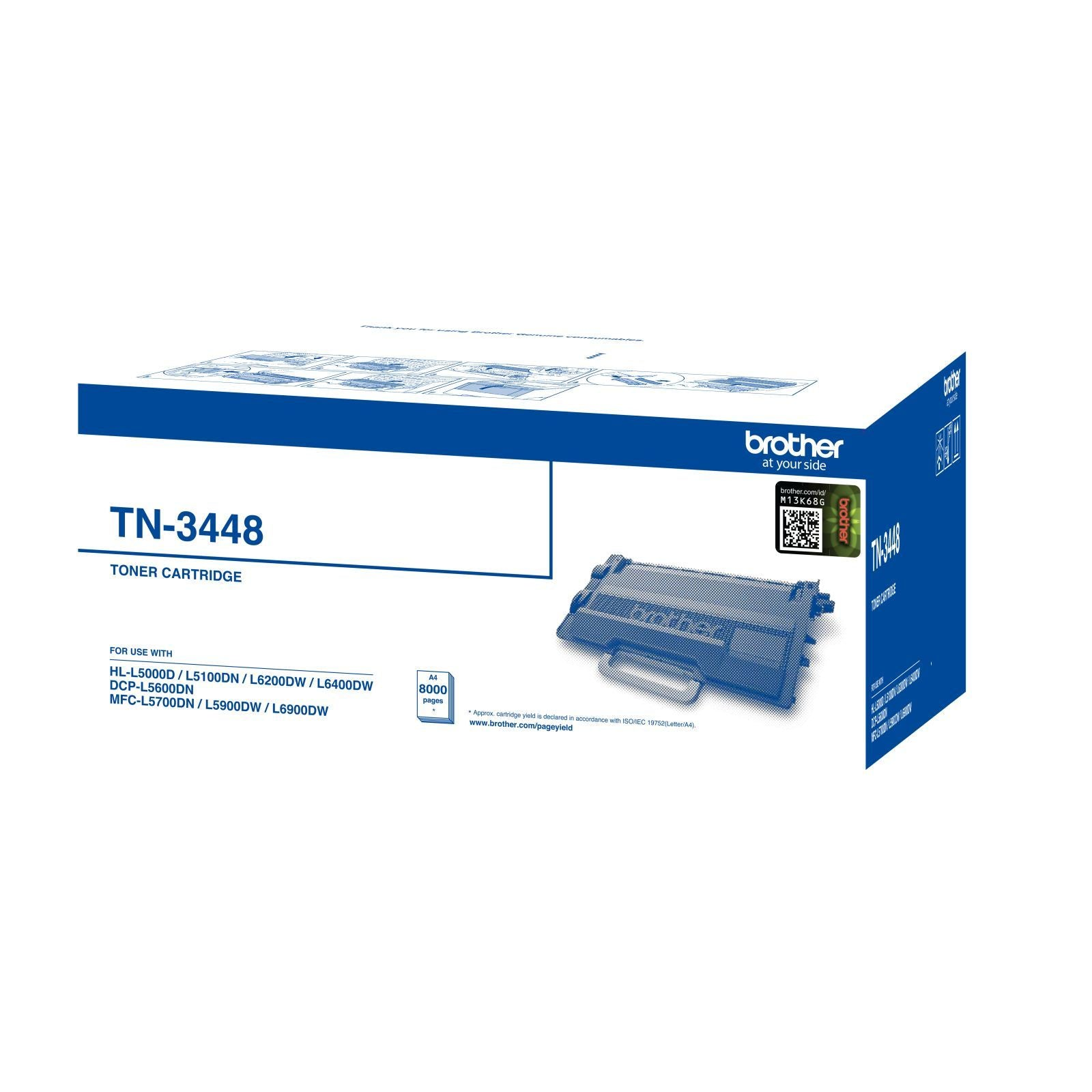 Brother TN-3448 Toner