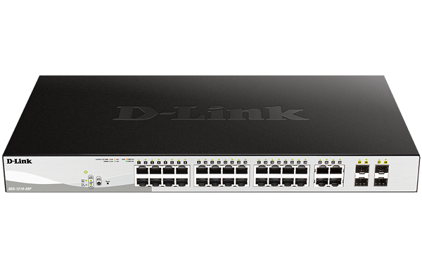 D-Link DGS-1210-28 Layer 2 Smart Managed Gigabit Switch
