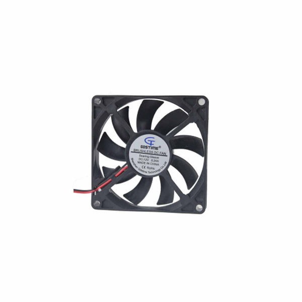 Intelligent DF1202512SEL Black Fan 12CM