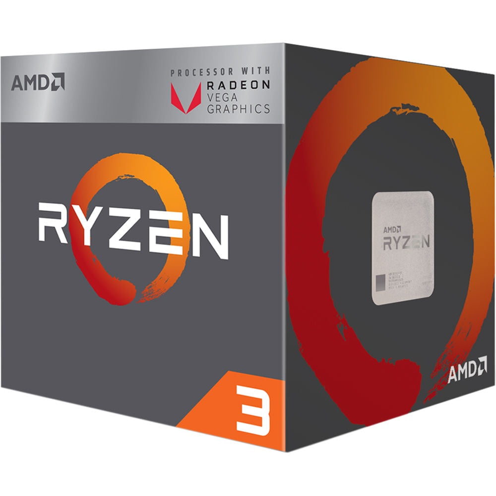 AMD Ryzen 3 2200G 3.5GHz Vega Graphics Processor