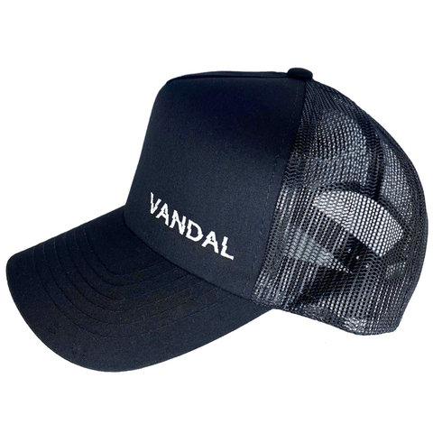 Vandal Supplements Snapback Classic Trucker Hat. VNDL Project