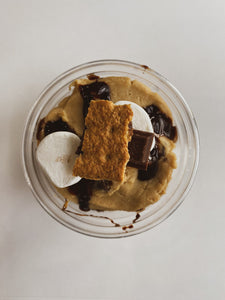Smore's Edible Cookie Dough