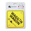 Waggin Wagon Car Sign