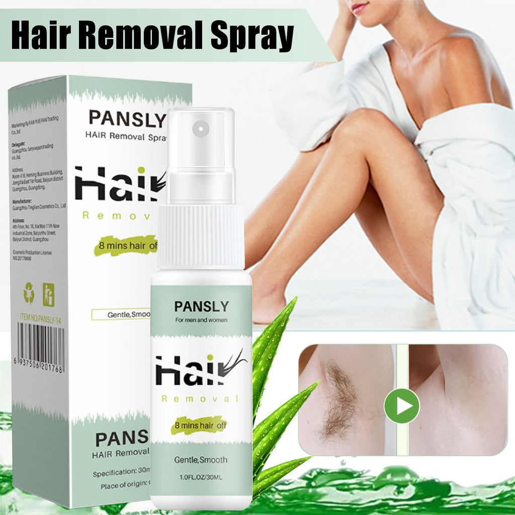 100 Natural Permanent Hair Removal Spray Youares