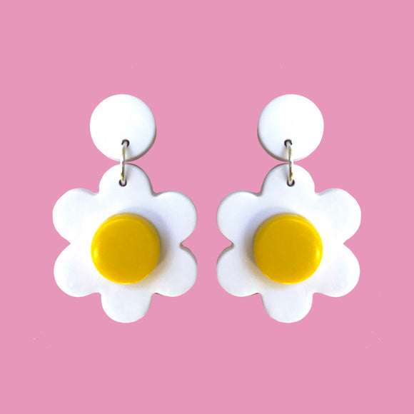 DOT Daisy Earrings [Sunshine -Stud]