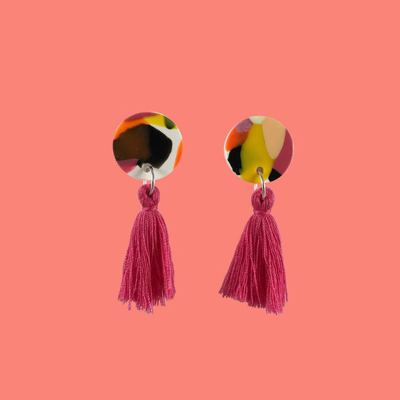 SOLAR [Paradiso - Coral Candy Pink Tassel]