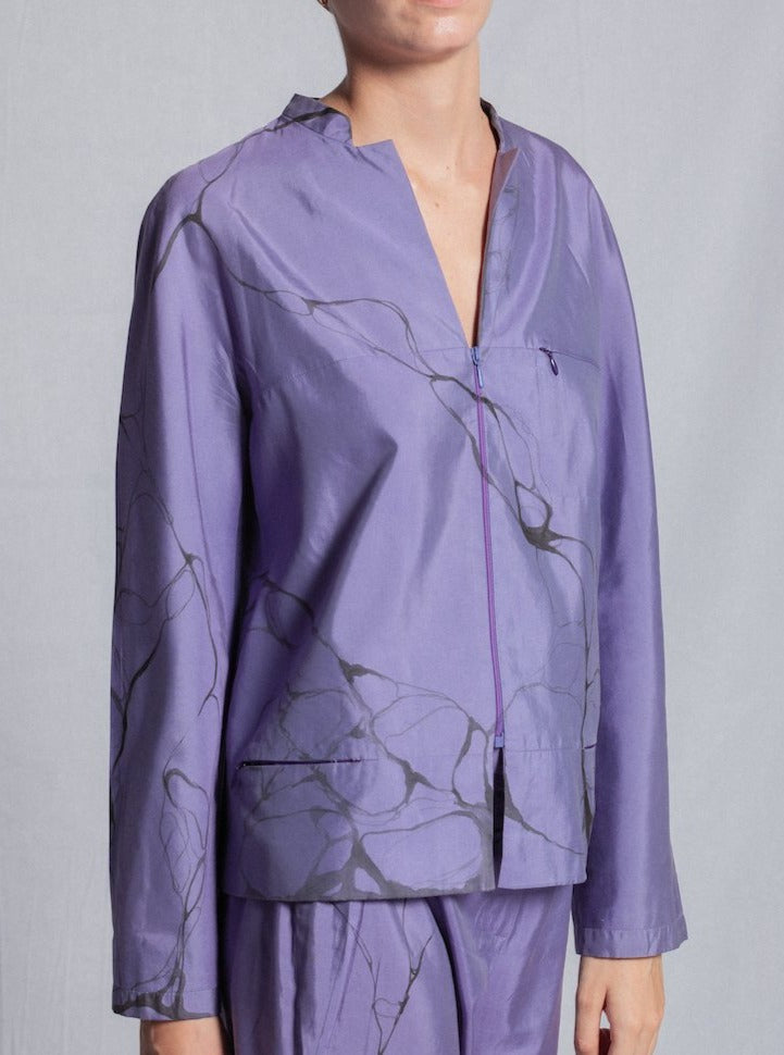 SILK LILA JACKET
