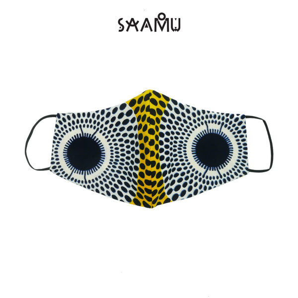 SAAMU PM2.5 COTTON MASK - Melon Print