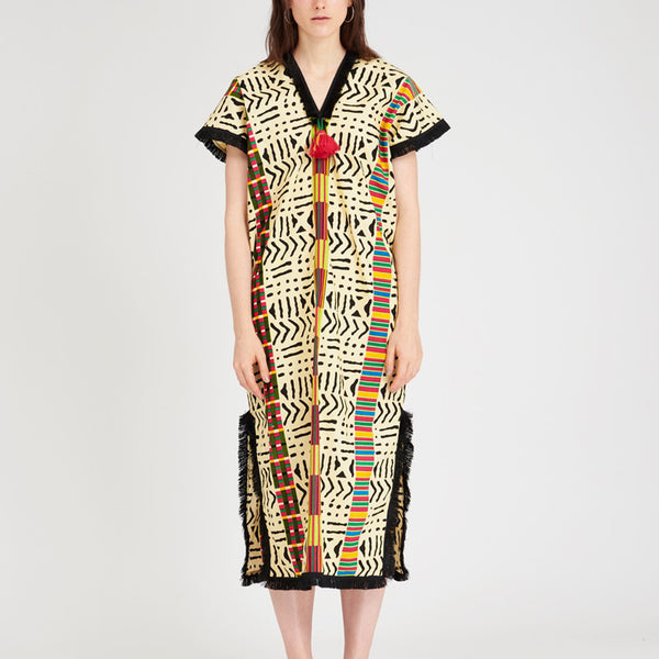 Summer Dress Kente