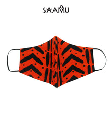 SAAMU PM2.5 COTTON MASK - Brick Print