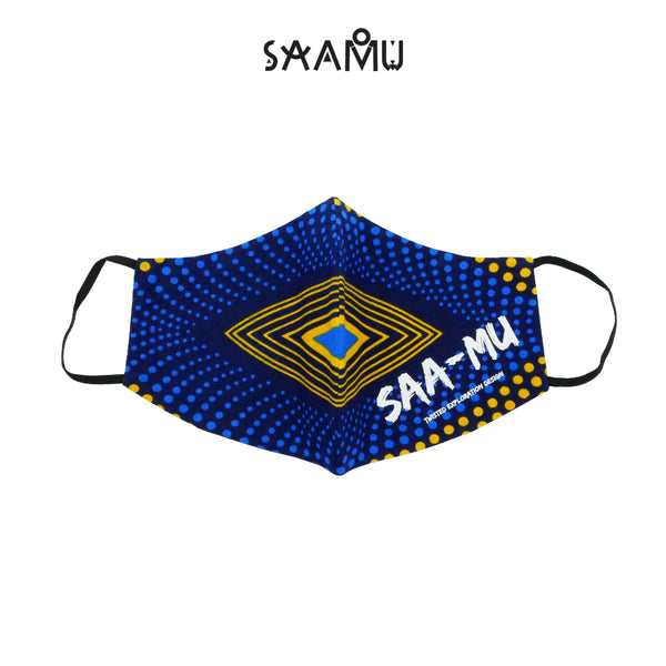 SAAMU PM2.5 COTTON MASK - GIA Print