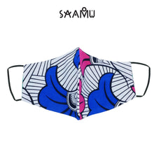 SAAMU PM2.5 COTTON MASK - Ginko Print