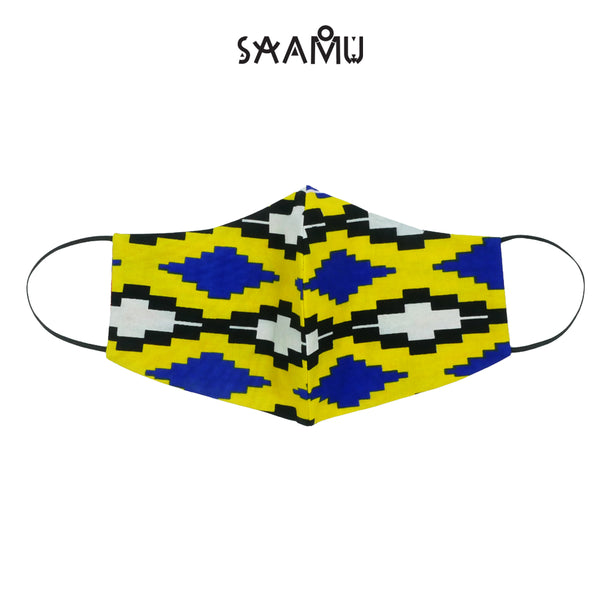SAAMU PM2.5 COTTON MASK - Kente