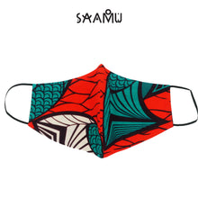 SAAMU PM2.5 COTTON MASK - Salmon