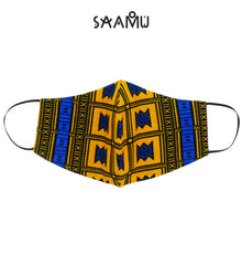 SAAMU PM2.5 COTTON MASK - Stool Print