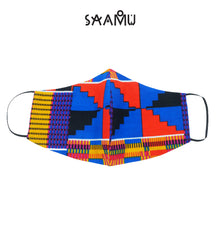 SAAMU PM2.5 COTTON MASK - Tetris Print