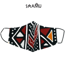 SAAMU PM2.5 COTTON MASK - WAKA WAKA Print