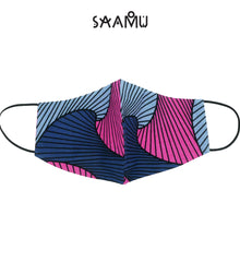 SAAMU PM2.5 COTTON MASK - Wave Print