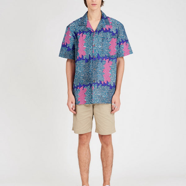 Hawaii Shirt Blue Sea