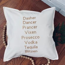 Load image into Gallery viewer, Silly Reindeer Pillow