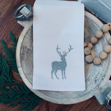 Load image into Gallery viewer, Reindeer Tea Towel