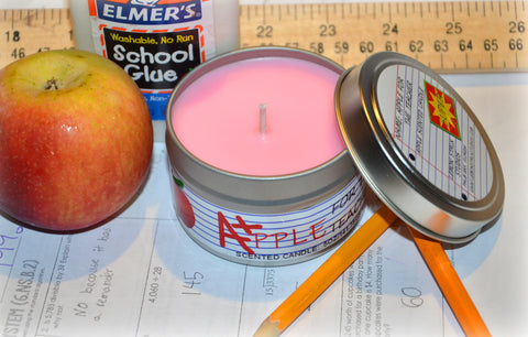 5oz Apple for Teacher Candle
