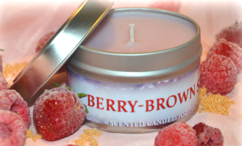 5oz Berry-Brown Sugar Candle