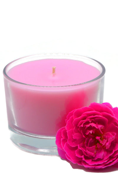 Kissed By A Rose Glass Container Candle - 4.5oz